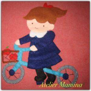 ✳︎自転車に乗った女の子
