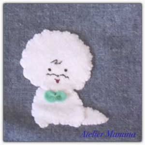 Bichon Frise applique